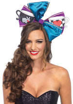 Leg Avenue Female Tea Party Multi-Use Oversized Bow With Headband And Safety Pin A2753