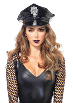 Leg Avenue Female Vinyl Police Hat 3761