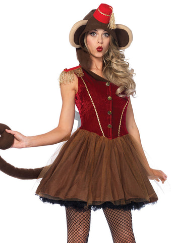 Leg Avenue Female Wind Up Monkey Costume 86640