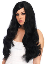Leg Avenue Long Wavy Wig With Adjustable Strap A2722