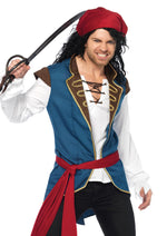 Leg Avenue Male 3PC.Pirate Scoundrel Costume 86637