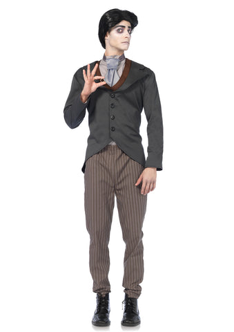 Leg Avenue Male 4PC.Victor Costume CO85527