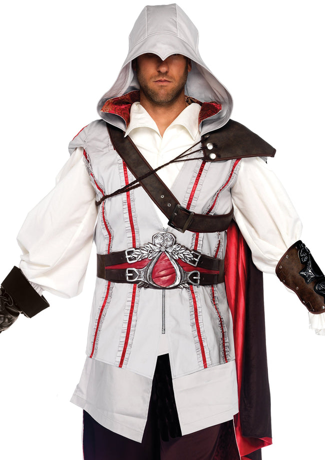 Leg Avenue Male 8PC.Ezio Costume AS85034