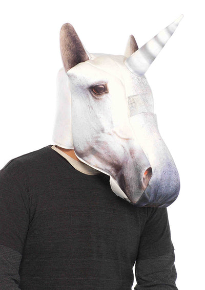 Leg Avenue Male Foam Unicorn Mask O/ 2161