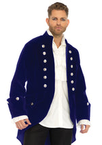 Leg Avenue Male Long Velvet Coat Costume 86687