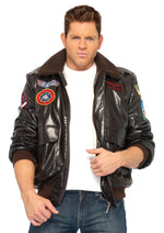 Leg Avenue Male Top Gun Men's Bomber Jacket Costume TG83703