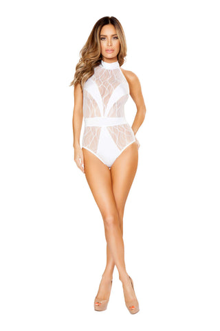 1Pc Romper With V Covered Detail  - Fashion