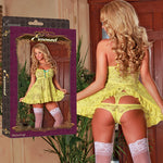 Magic Silk Female Buttercup Babydoll&Cutout Panty B510