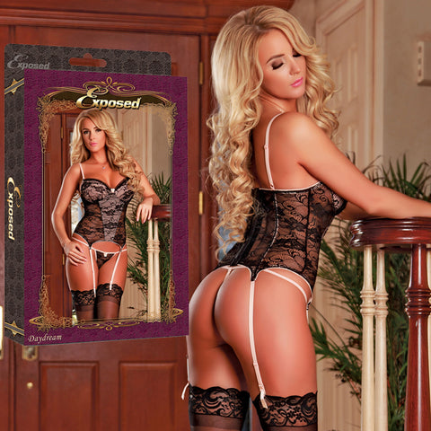 Magic Silk Female Daydream Bustier & G-String String B502