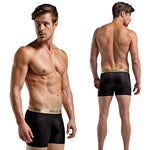 Magic Silk Male Silk Knit Panel Short B6886