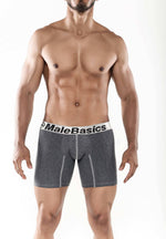 Malebasics Mens Cotton Fitted Boxer Brief - Underwear For Men Lingerie