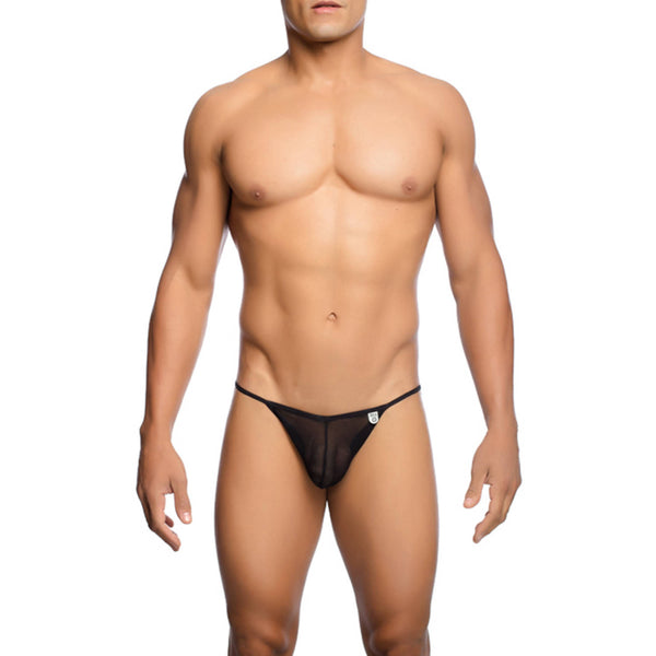 Malebasics Mens Sheer Bikini - Underwear For Men Lingerie