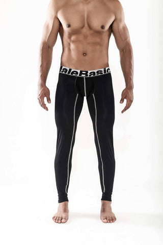 Malebasics Mens Winter Performance Microfiber Long John - Underwear For Men Lingerie