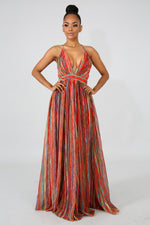 Mystic Maxi Dress RED