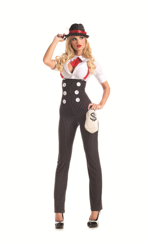 Party King Female Heist Hottie Costume PK309