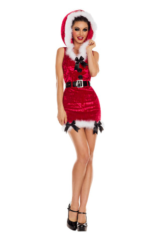 Party King Female Santa's Helper - Red Costume PK850RD
