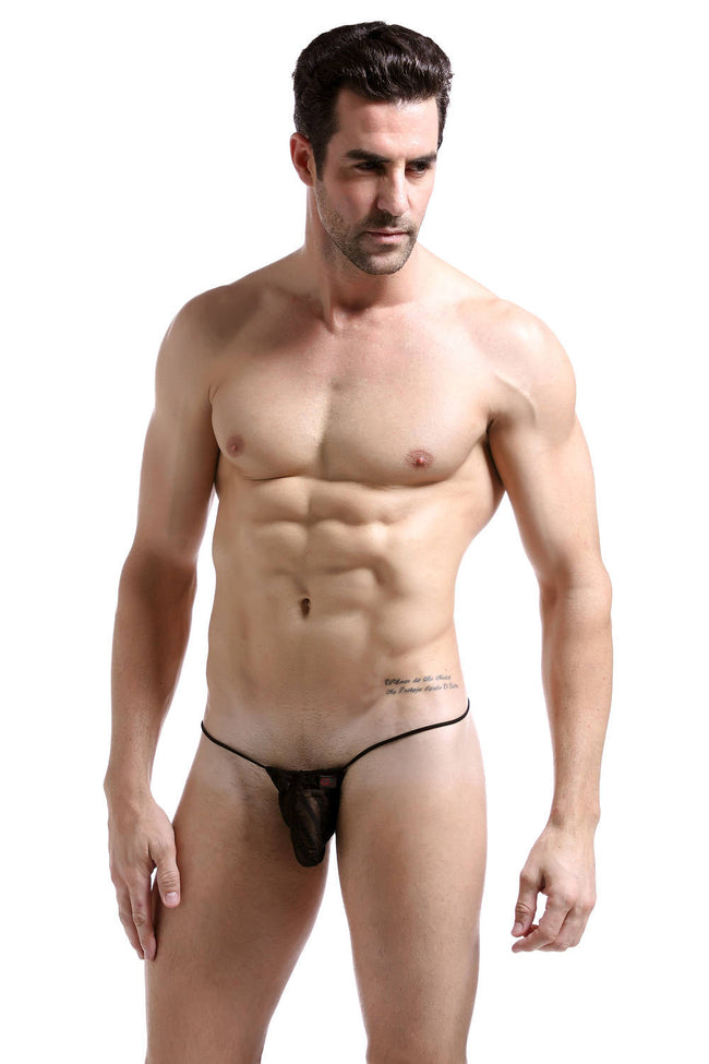 G-String Mesh Stripes - Fashion