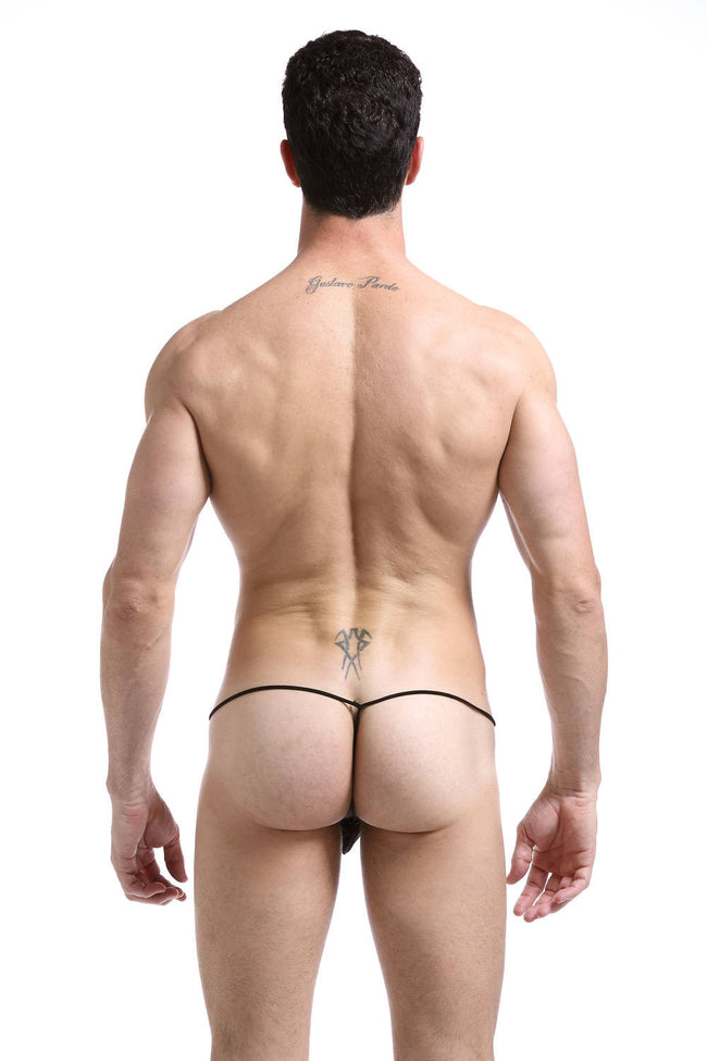 G-String Mesh Stripes - Mens Fashion