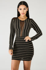 Prime Time Body-Con Dress BLACK