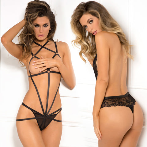 Rene Rofe Female AM Wrapped In Lust Body Harness 502147