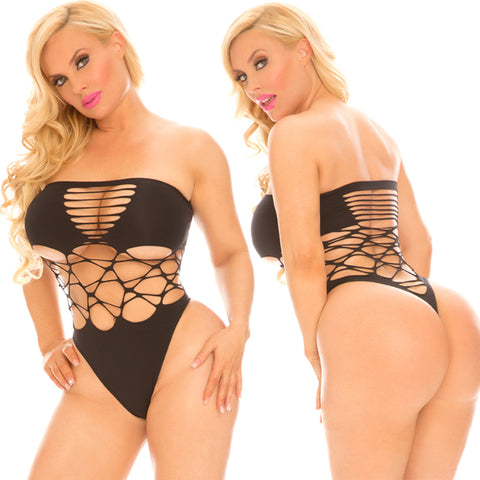 Rene Rofe Female Cocolicious Cross Boss Bodysuit 35006