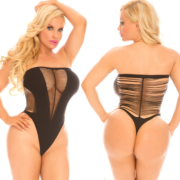Rene Rofe Female Cocolicious String Me Alng Bodyst 35005