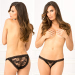 Rene Rofe Female Crotchless Lace Panty 1110