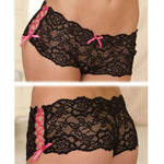 Rene Rofe Female Crotchless Lace Side Tie Boyle 1031