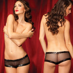 Rene Rofe Female SG Flash Dance Fishnet Boyshort With Seq M 1081