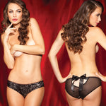 Rene Rofe Female SG Solo Act Sequin Front Hipster M 1092