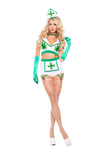 5PC Starline Nurse High Costume