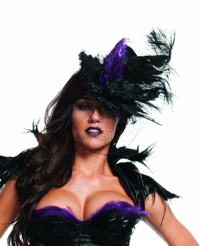 Ravishing Raven Hat  sc 1 st  UTrend Fashion : costumes accessories  - Germanpascual.Com