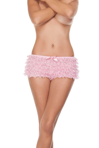 Starline Sequin Ruffled Shorts