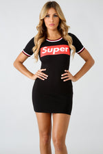 Super Summer Dress BLACK