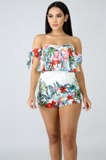 Tropical Havana Romper MULTI PRINT
