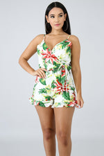 Tropical Romper IVORY