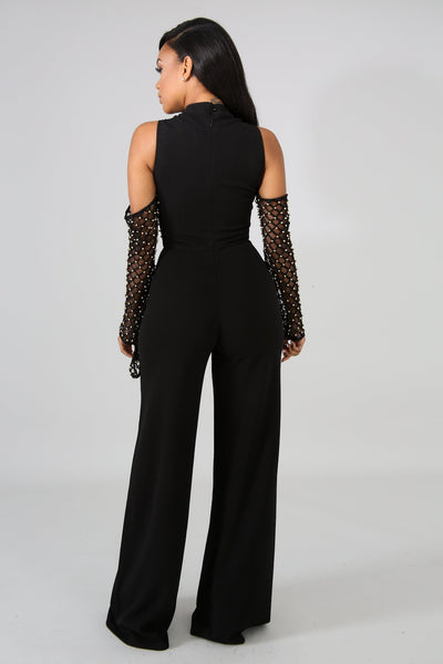 Under My Spell Jumpsuit BLACK