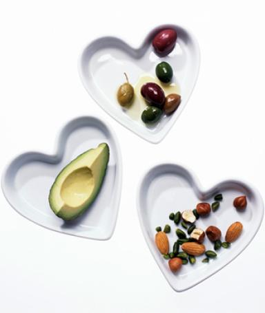 Healthy fats and nuts