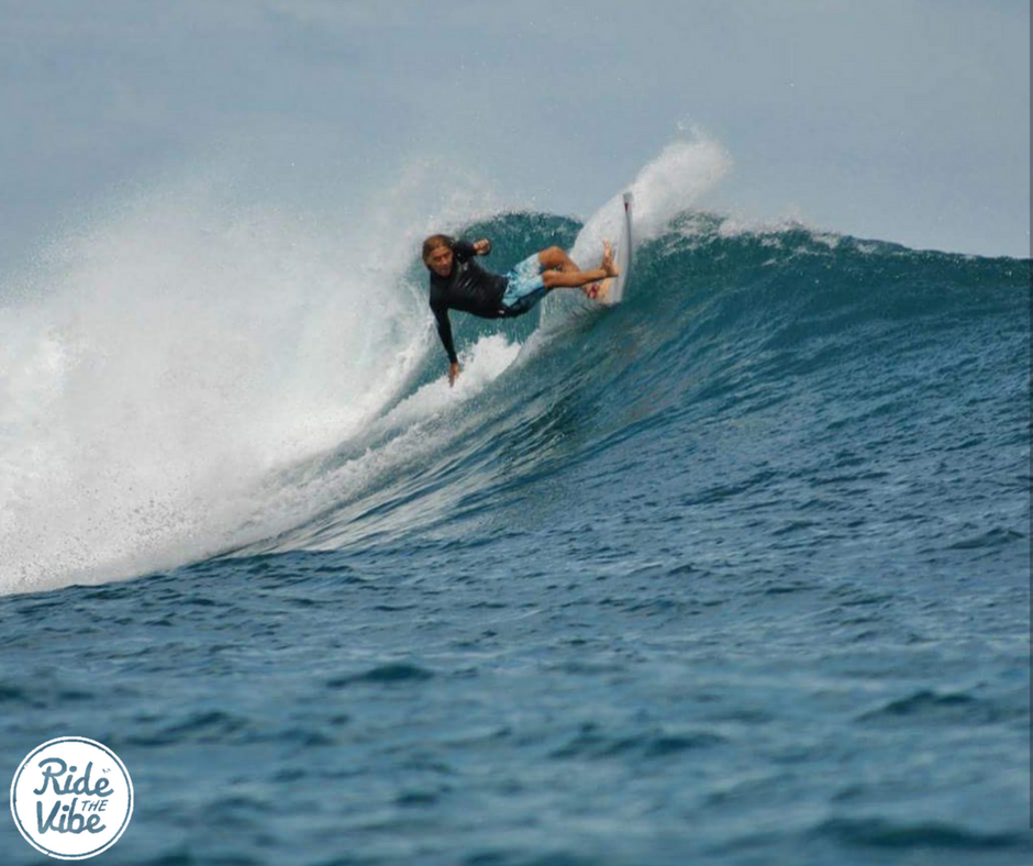 Scotty Abbott our team rider and an Aussie Surfing legend