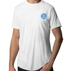 Blue Double Stamp - Men's Tall Tee