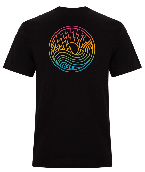 Vibes T-Shirt Coloured Logo