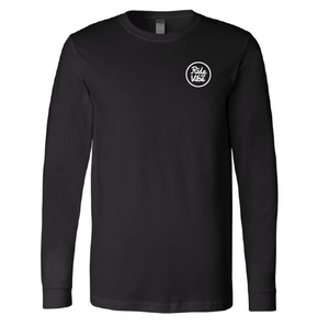 Vibes - Long Sleeve Shirt Coloured Logo