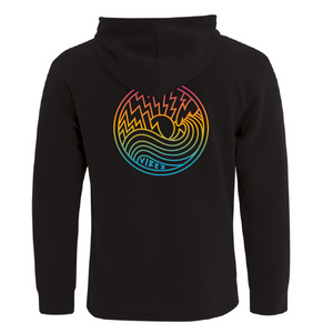Vibes - Hoodie Coloured Logo - Ride The Vibe