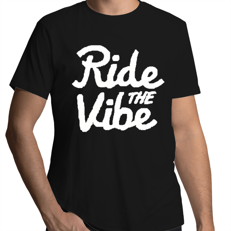 RTV Live Large - Mens T-Shirt - Ride The Vibe