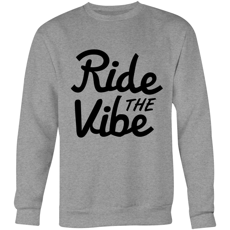 Black Clean RTV - Krew Neck Sweatshirt