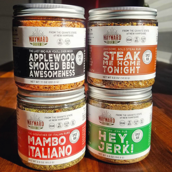 Big Announcement: Four New Spice Rubs!