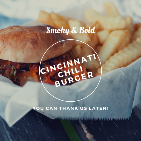 Spicy & Bold Cincinnati Chili Burder | Recipe | Wayward Gourmet