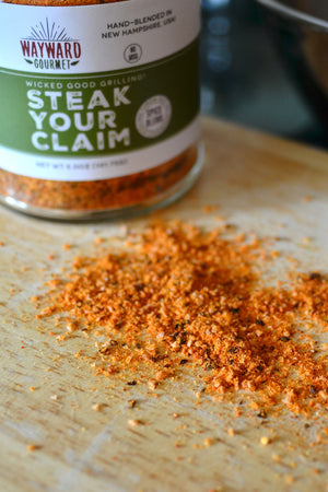 Steak Your Claim Gourmet Steak Rub