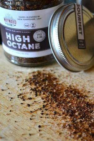 High Octane Coffee Rub for Steaks & Roasts