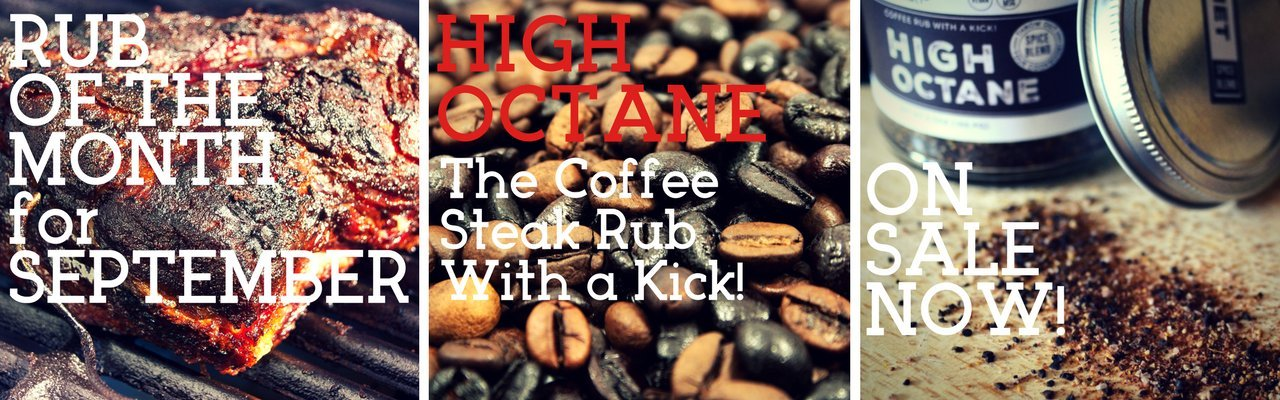 Rub of the Month for May| High Octane | The Coffee Rub with a Kick